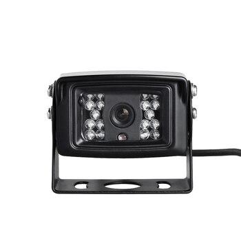 משלוח חינם 4 פינים/AV/BNC 700TVL CCD IR ראיית לילה עמיד למים רכב מבט אחורי הפוך מצלמה גיבוי עבור אוטובוס משאית ואן