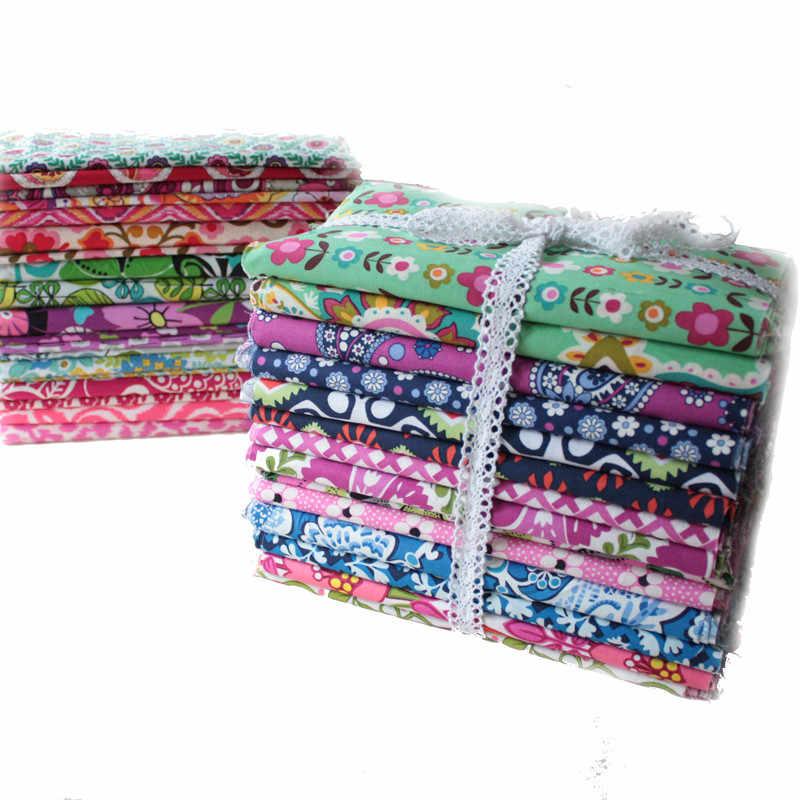 Bella 20*25 cm quarti di Grasso Fasci di Tessuto patchwork di tessuti di cotone Per Cucire Quilting tilda Bambola di stoffa per Artigianato FAI DA TE 24 pz/lotto