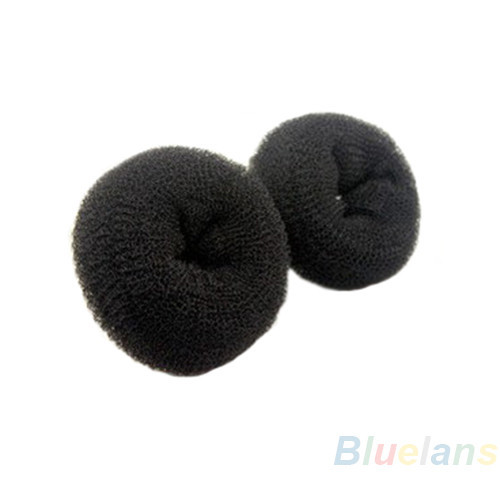 Styling Products Trustful Hothair Donut Bun Ring Shaper Roller Styler Maker Brown Black Blonde Hairdressing S M L Elastic Round Nylon Wire 029q 2sah 7cwr
