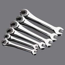 Tubing Flexible Ratchet Wrench Spanner Combination Wrench 1PC цена и фото