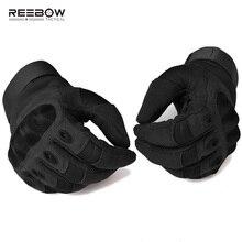 Военные мягкие тактические перчатки, армейские страйкбол перчатки для пейнтбола, полный палец, мотоциклетные перчатки, черные