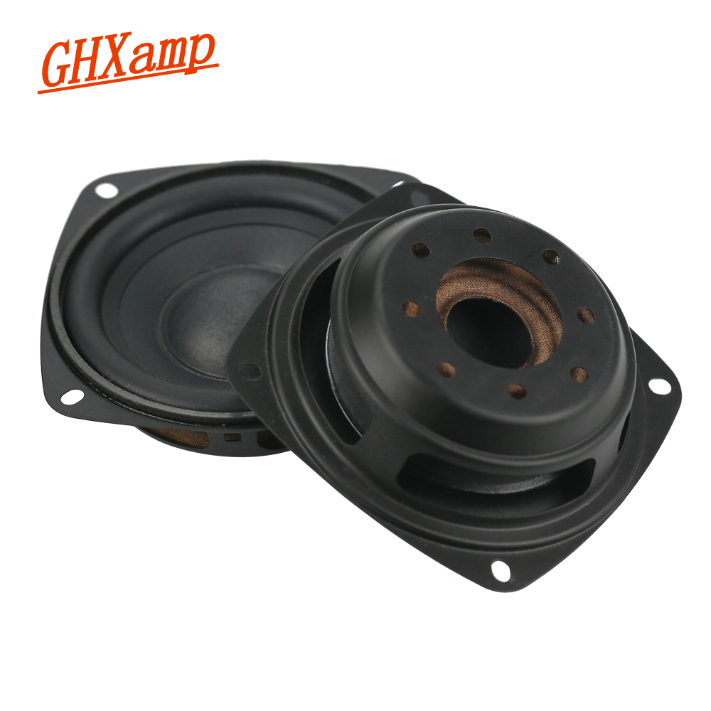 GHXAMP For 3.5 inch 4 inch 5 inch 83MM Passive Radiator Speaker Woofer Vibration PU For DIY Subwoofer Box Bass Radiator
