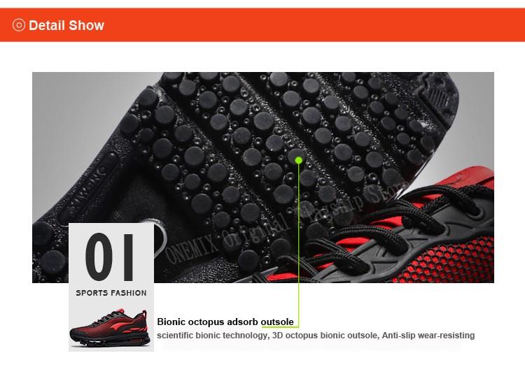 ONEMIX Breathable Mesh Running Shoes for Men Women Sneakers Comfortable Sport Shoes for Outdoor Jogging Trekking Walking 11