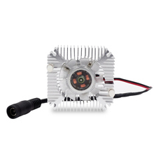 1set High Quality 55x55x12mm DC 12V Radiator With Fan Aluminum Heatsink Extruded Profile Heat Sink For LED Chip With EU Plug