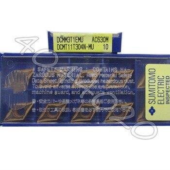 DCMT11T304N-MU AC630M  10pcs/box Sumitomo  New original Carbide blade