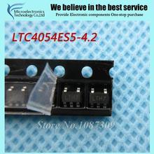 10 pcs frete grátis LTC4054ES5-4.2 LTC4054ES5 LTC4054 LTH7 SOT-23-5 battery management Móvel p original novo