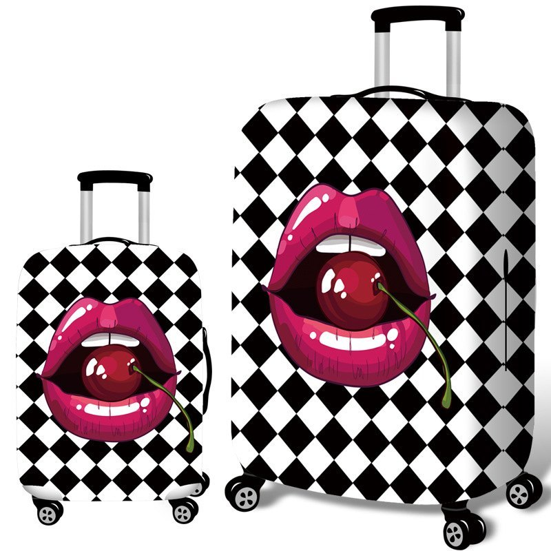 Travel Accessories Luggage Cover Apply 18 - 32 Inch Trolley Cartoon Luggage Dust Cover , For Suitcase Elastic Protective Cover