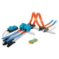 Литой DIY игрушка головоломка 3D праздничные подарки скорый поезд трек горки трек электрический вагон для образовательные собранные игрушки