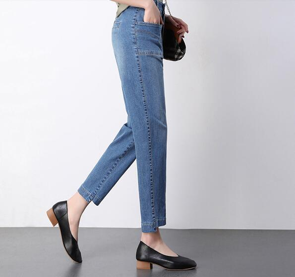 P1 Nueva Jeans Sueltos Las Mezclilla Otoño Cintura Harem Moda Pantalones Alta Plus De Tamaño Akd0902 Primavera Mujeres Casual p3 p2 ZwRZITqxr