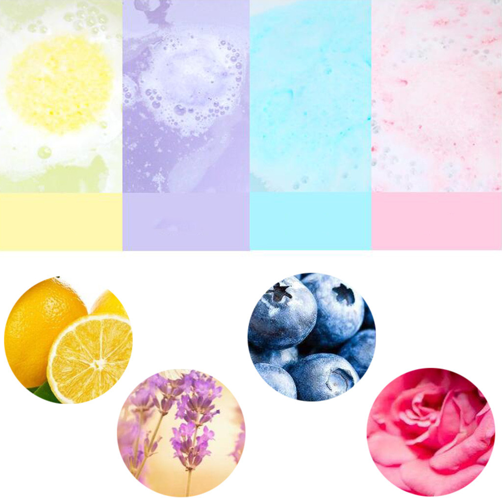Image 5 - Hot Sale Natural Bathing Bombs Explosion Ball Fizzy Spa Moisturizes Bubble Bath lush Fizzy Spa Moisturizes Dry Skin  G604-in Bath Brushes, Sponges & Scrubbers from Home & Garden