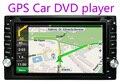 100% Новый универсальный 2 Автомобиля гама Радио Двойной Dvd-плеер Автомобиля Gps-навигация В тире Автомобиля Стерео видео + Бесплатная карта
