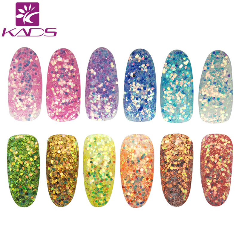 KADS Arrival High Gloss Glitter Dust Nail Powder.Nail Decoration Glitter Nail Glitter Powder for glitter powder nail tool 1000g 98% fish collagen powder high purity for functional food