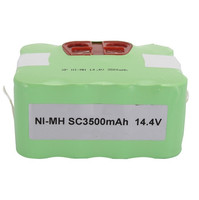 Robot Vacuum Cleaner Spare Parts Rechargeable Battery Ni MH 3500mAh Pack For Seebest C565 C561 C571