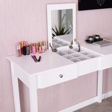 Modern Makeup Vanity Table White