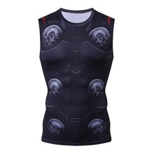 Avengers 3 Thor 3D Printed T shirts Men Compression Shirts Cosplay Costume 2018 Summer NEW Comics Tops For Male Clothing