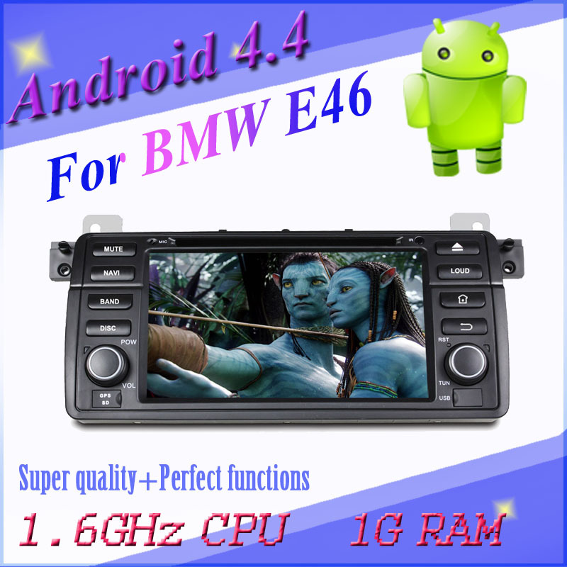1024*600 capacitive screen pure Android car DVD BMW E46/M3 wifi gps navigation radio BT map CAN BUS - All real photo all selected products shop store