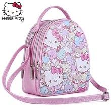 158ca4801 Hello Kitty Cute Cartoon Bag hellokitty Fashion Women 2019 New Style Girl  Leather Cute Cartoon Pink