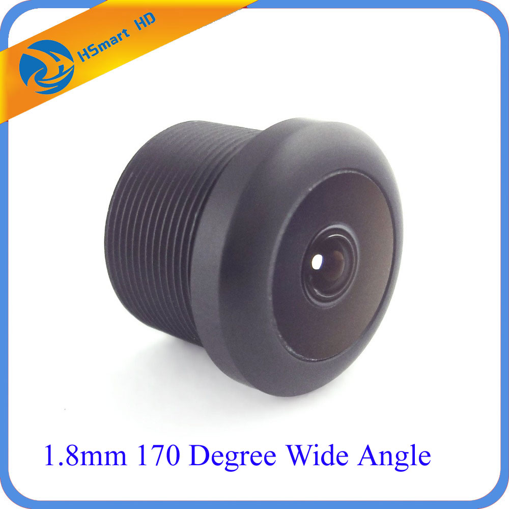1.8mm 170 Degree Wide Angle CCTV Car Camera 650nm Lens IR Board Lens MTV Mount Lens 1 8mm mtv security lens 170 degree wide angle ir board cctv lens for surveillance camera