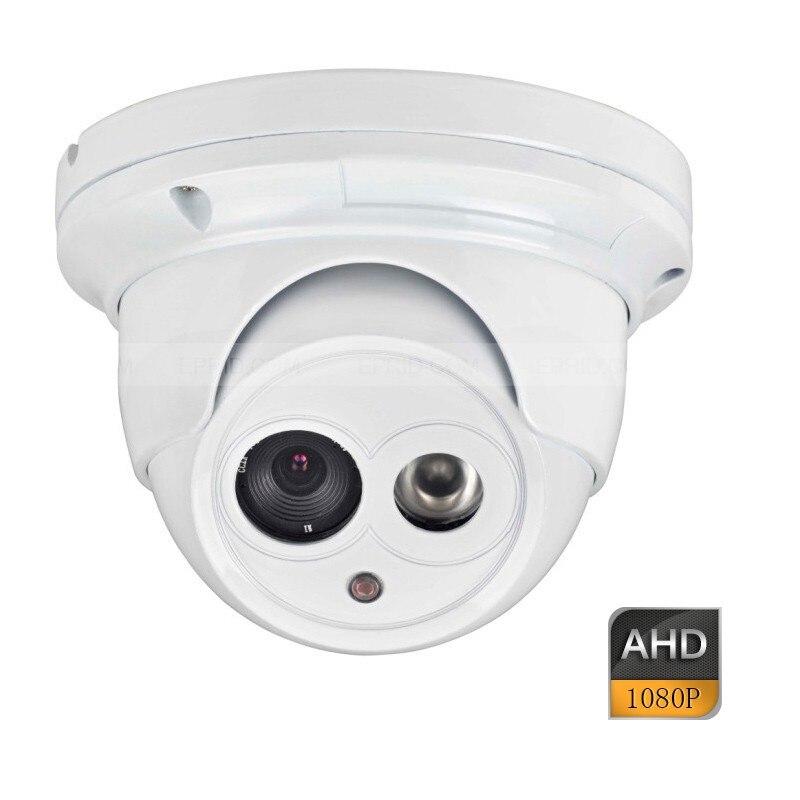 ФОТО AHD 2.0MP Full HD Security CCTV Metal Dome Camera Outdoor Array IR 4mm Lens