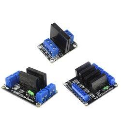 Eletrônica inteligente 1/2/4 Canal 5V DC Módulo de Relé de Estado Sólido SSR Relé de Baixo Nível G3MB-202P AVR DSP para arduino Diy Kit