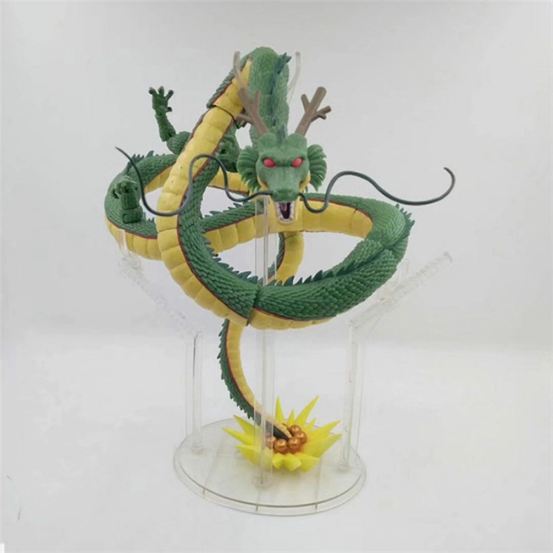 28cm Dragon Ball Z Shenlong SHF Super Saiyan PVC Action Figure Japanese Anime Super Shenron Collectible Model Toys Garage kit-in Action & Toy Figures from Toys & Hobbies    2