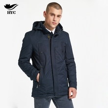 HAI YU CHENG Coat Parkas Men Winter Jacket Men High Quality Brand-Clothing Special Zipper Men's jacket Euro Men's Windbreakers