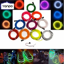 el wire colors online shopping the world largest el wire colors waterproof 3m neon el wire 10 colors flexible rope tape tube led grow lights 12v car controller party decoration wedding
