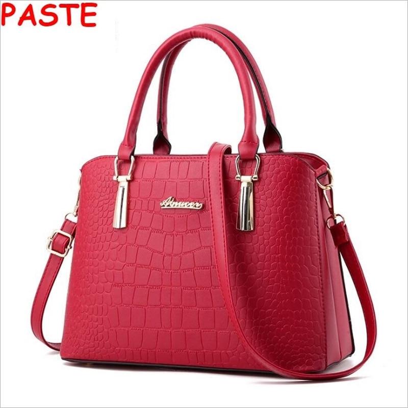 ФОТО SUNNY SHOP American LUXURY Genuine Leather Women Shoulder Bag Brand Designer Cowhide genuine leather handbags Skin Shoulder bag