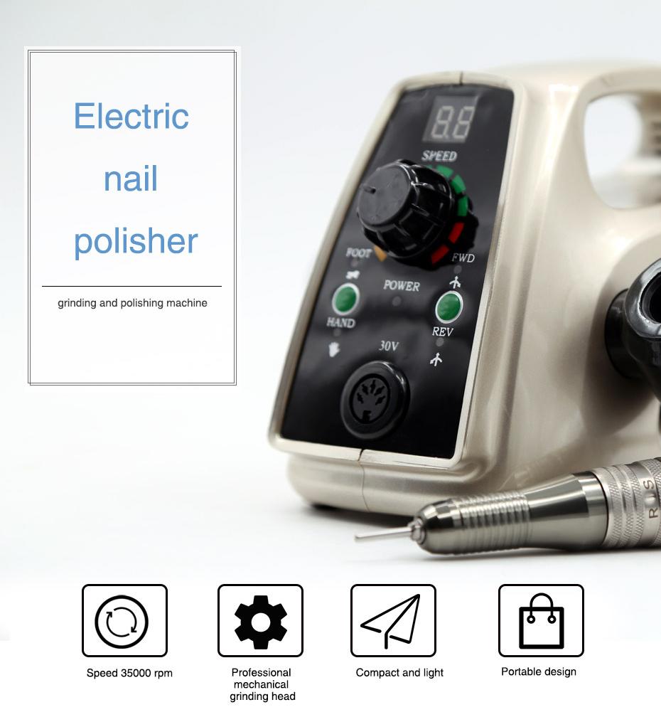 8 electric professional nail drill, professional nail drill, nail drill,Cheap electric professional nail drill, (2)