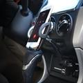 Sostenedor del teléfono del coche encendedor del coche dual usb interfaz de carga soporte para teléfono móvil iphone xiaomi huawei universal
