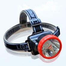 Small Led Headlamp AA Battery Headlight High Power Mini Head Light Lamp Torch Lanterna Lamps Lampe Torche for fishing hunting