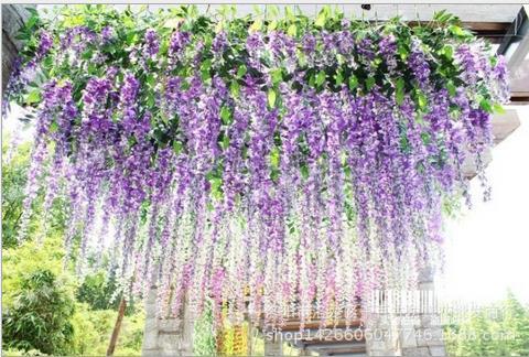Hochzeitsfest bevorzugt künstliche Blumen 1.1M Silk Blumen-elegantes - Partyartikel und Dekoration - Foto 2
