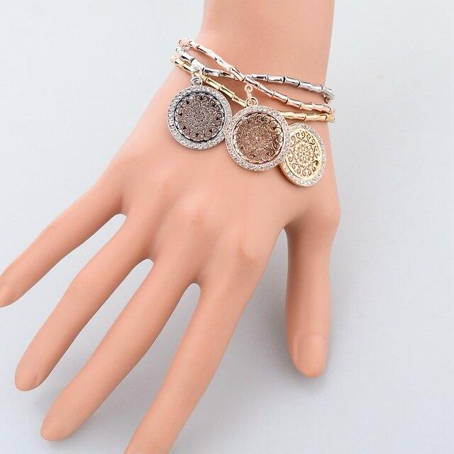 toucheart хрустальные браслеты ручной работы и с камнями для фотография