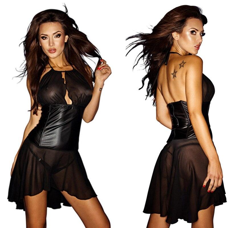 Женщины в лаковой и латексной одежде фото 328-525