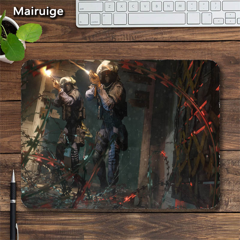 Mairuige Rainbow Six Mouse Pad FPS Games Padmouse for Csgo Gaming Mouse Pad Support Diy Soft Gaming Rubber Anti-skid Mat Mouse