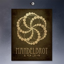 Steampunk Art Print Wall Poster mendel brot  1924  painting printed on canvas