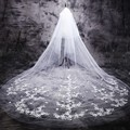 White  Ivory Wedding Veil 3m Long  Lace  Bridal Veil Wedding Decoration Wedding Accessories 2017 New