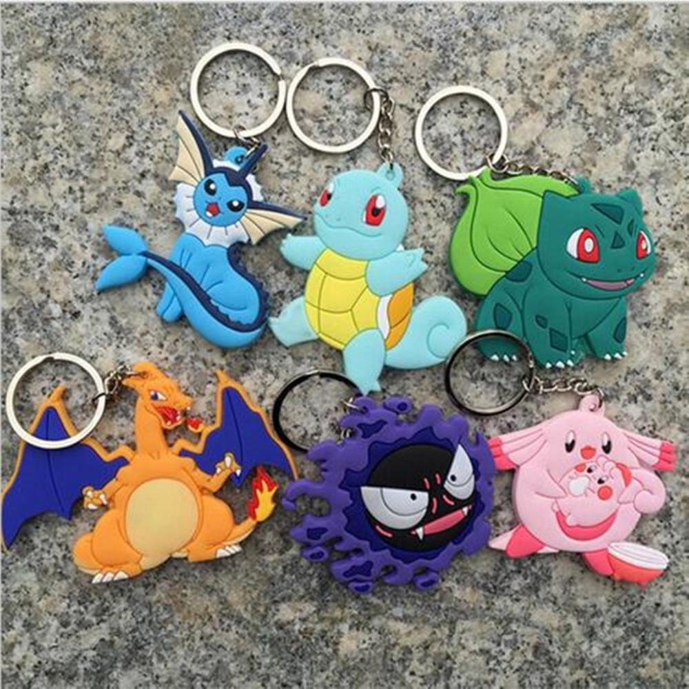 anime-cartoon-font-b-pokemon-b-font-go-keychain-pocket-monster-pikachu-squirtle-charizard-charmander-key-ring-figures-cosplay-llavero-chaveiro
