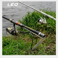 Fishing Rod Holder 47cm Stainless Steel Automatic   Outdoor  Essential tools All Metal Strengthened LEO Upgrades