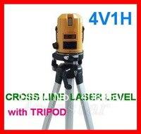 Крест линии лазерный уровень штатив строительство Tool Kit Набор