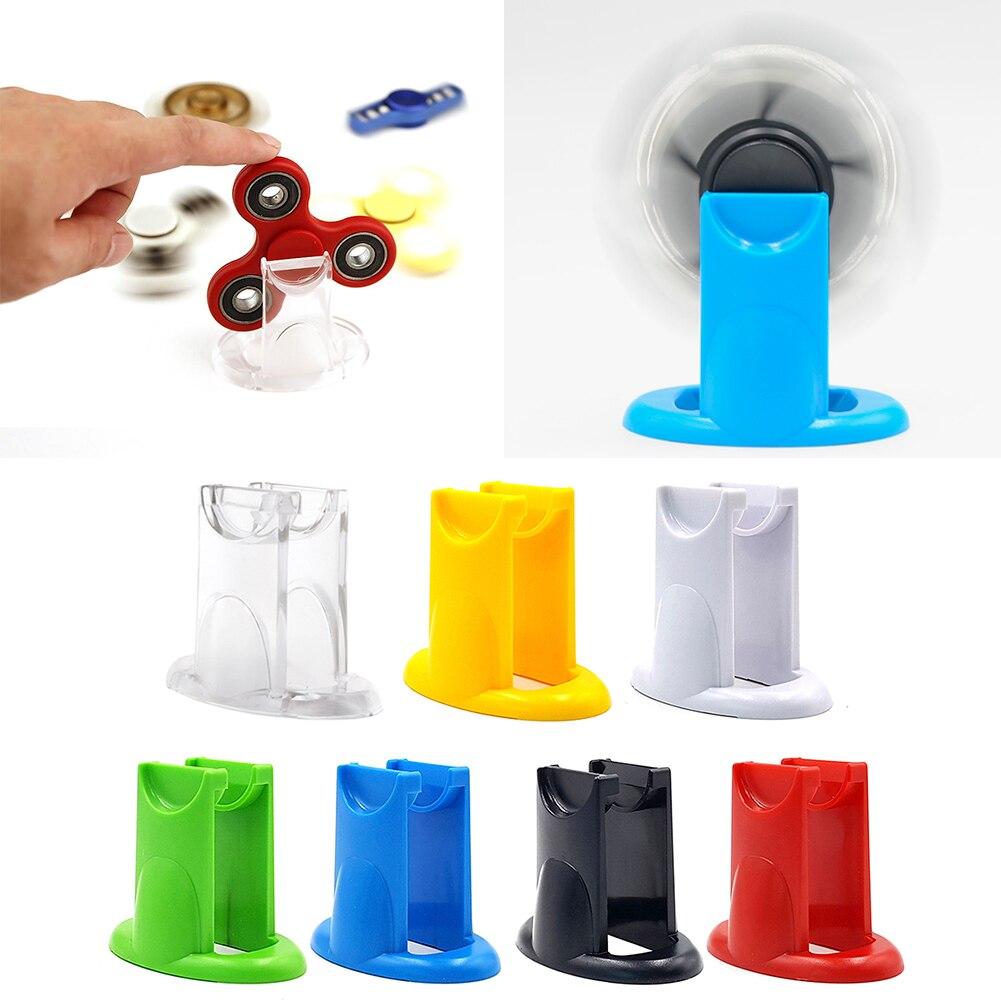 Fidget Spinner Holder New Design For Hand Spinner Antistress Toy Holder EDC Finger Spiner Mount Holder High Quality 7 Colors latający fidget spinner ali express