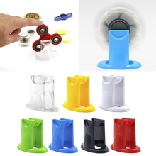 New Design Fidget Spinner Holder For Hand Spinner Antistress Puzzle Focus Toy Holder EDC Finger Spiner Gyro Mount 7 Colors HOT(China)