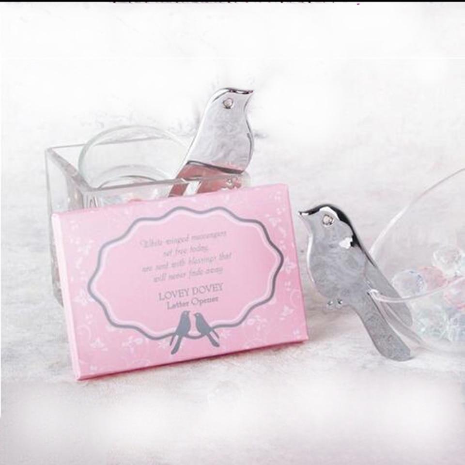 Weddin Favor Love Birds Letter Opener Souvenirs for Wedding Party ...