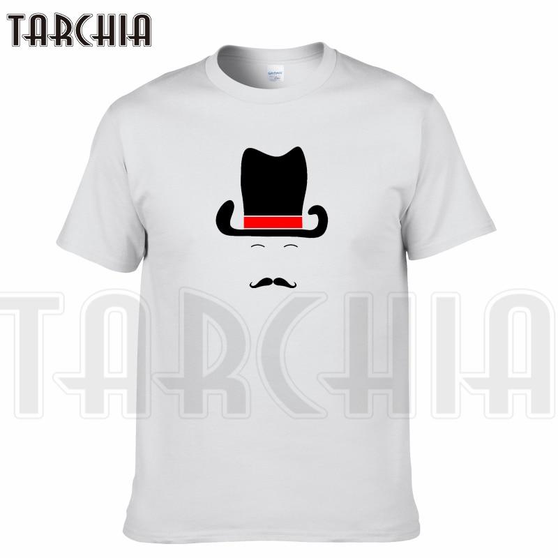 TARCHIA 2018 New Brand t-shirt arrive hat beard  funny cotton tops tees men short sleeve boy casual homme tshirt t plus fashion