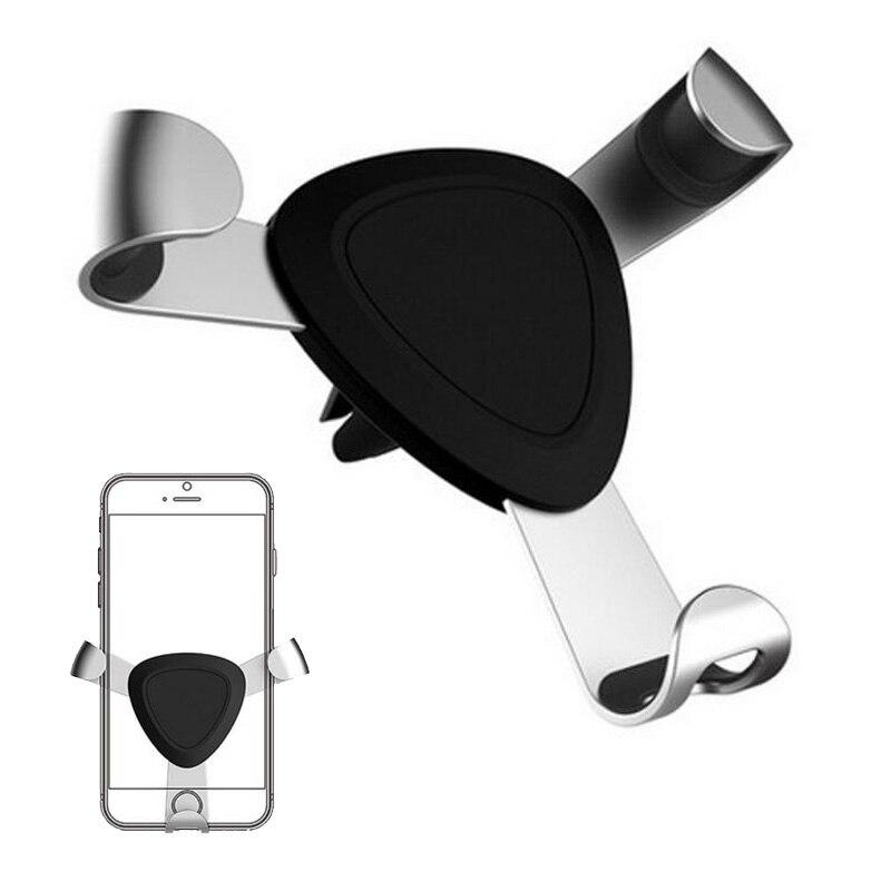 Автомобильный держатель телефона Air <font><b>Vent</b></font> 360 Вращение телефон крепление подставка для iPhone 8 7 5S 6S плюс Для Samsung S8 S7 S6 Примечание