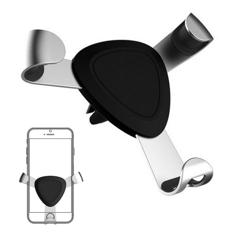 Car Mobile Mount Phone Holder Air Vent Mount 360 Rotation Phone Mount Stand for iPhone 8 7 5s 6s Plus for Samsung S8 S7 S6 Note