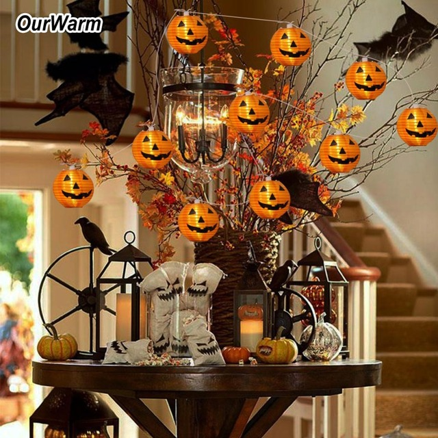 OurWarm Halloween Decorations Haunted House Props Lace