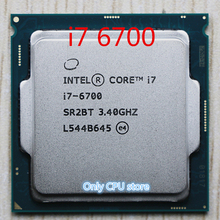 Original สำหรับ Intel Core i7 6700 3.4GHz /8MB Cache/Quad Core/ซ็อกเก็ต LGA 1151/Quad Core/เดสก์ท็อป I7 6700 CPU