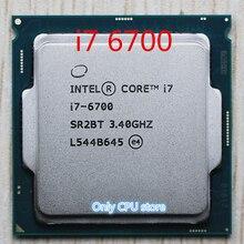 Original für Intel Core i7 6700 Prozessor 3,4 GHz /8MB Cache/Quad Core/Sockel LGA 1151 / Quad Core /Desktop I7 6700 CPU