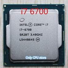 Orijinal Intel Core i7 6700 İşlemci 3.4GHz /8MB önbellek/dört çekirdekli/soket LGA 1151/Dört çekirdekli/masaüstü I7 6700 CPU